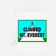 Mt. Everest Greeting Cards