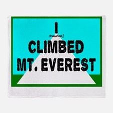 Mt. Everest Throw Blanket