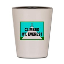 Mt. Everest Shot Glass