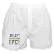 Coolest Maid of Honor Ever Boxer Shorts