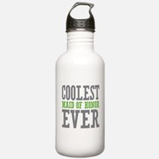 Coolest Maid of Honor Ever Water Bottle