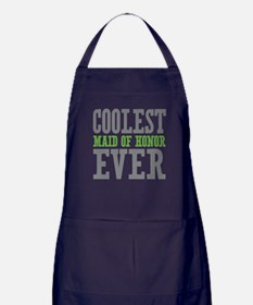 Coolest Maid of Honor Ever Apron (dark)