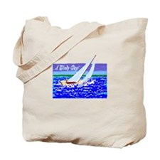 A Windy Day/t-shirt Tote Bag