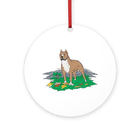 Staffordshire Ornament (Round)
