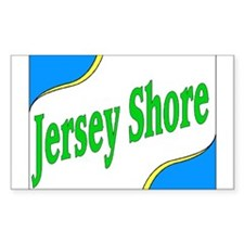 Jersey Shore Rectangle Decal
