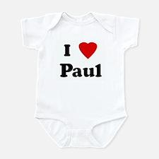 I Love Paul Infant Bodysuit
