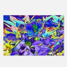 Foiled Garden Special Eff Postcards (Package of 8)