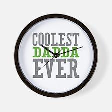 Coolest Dadda Ever Wall Clock