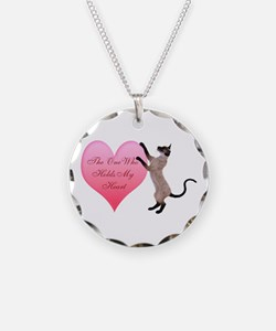 Valentine Cat Necklace