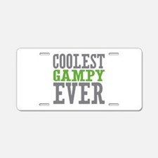 Coolest Gampy Ever Aluminum License Plate