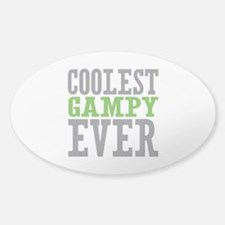 Coolest Gampy Ever Sticker (Oval)