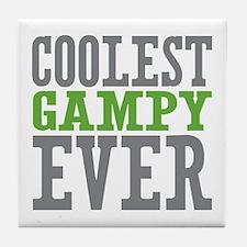 Coolest Gampy Ever Tile Coaster