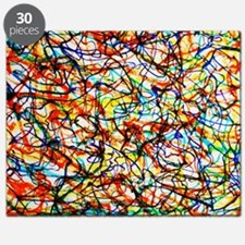 Doodle Squiggle Giggle Color Love Puzzle