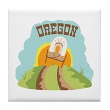 OREGON Tile Coaster