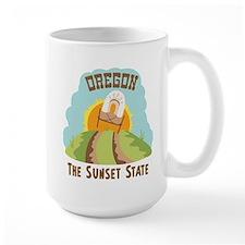 OREGON THE SUNSET STATE Mugs