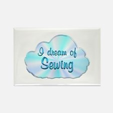 Sewing Dreamer Rectangle Magnet