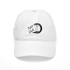 Black Tiki Life Logo Baseball Baseball Cap