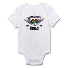 South African girls Infant Bodysuit