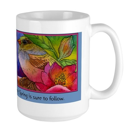 Beautiful Spring Large Mug