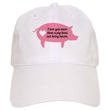 Pig Bacon Baseball Cap