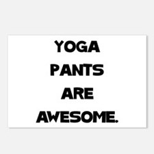 Yoga Pants Postcards (Package of 8)