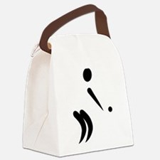 Boule player Canvas Lunch Bag