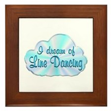 Line Dancing Dreamer Framed Tile
