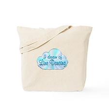 Line Dancing Dreamer Tote Bag