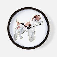 Wirehair Fox Terrier Wall Clock