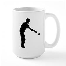Petanque boccia player Coffee Mug