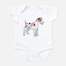 Wirehair Fox Terrier Infant Bodysuit