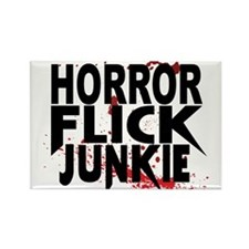 Horror Flick Junkie Magnets
