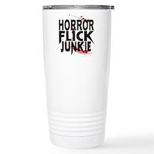 Horror Flick Junkie Travel Mug