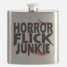 Horror Flick Junkie Flask