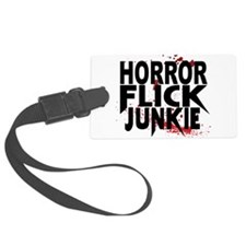 Horror Flick Junkie Luggage Tag