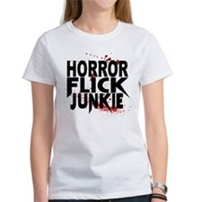 Horror Flick Junkie T-Shirt