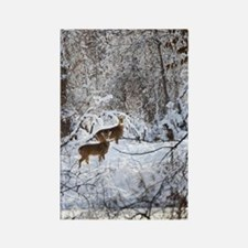 A Winter Wonderland Rectangle Magnet