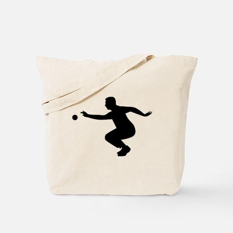 Petanque player Tote Bag