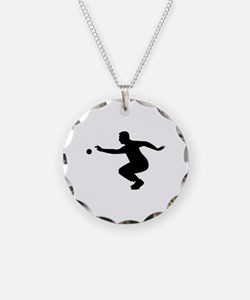 Petanque player Necklace