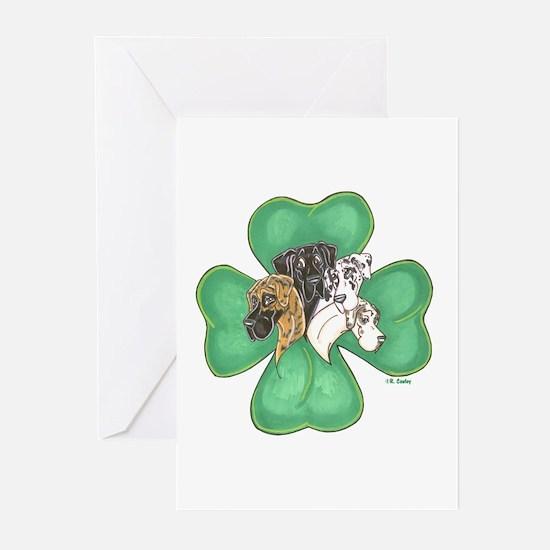Clover Quartet Greeting Cards (Pk of 10)