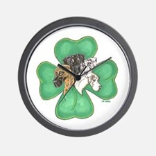 Clover Quartet Wall Clock