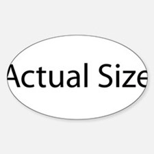 actual-size Decal