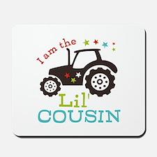 Little Cousin Tractor Mousepad