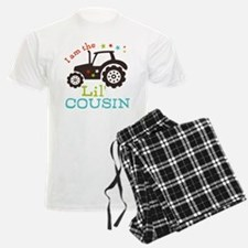 Little Cousin Tractor Pajamas