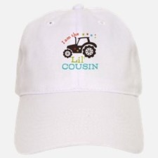 Little Cousin Tractor Baseball Baseball Cap