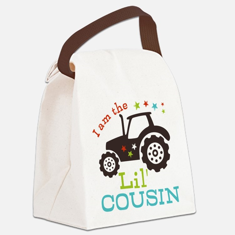 Little Cousin Tractor Canvas Lunch Bag