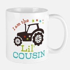 Little Cousin Tractor Mug