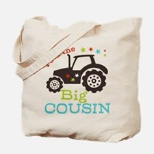Big Cousin Tractor Tote Bag