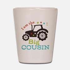 Big Cousin Tractor Shot Glass
