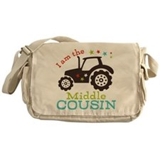 Middle Cousin Tractor Messenger Bag